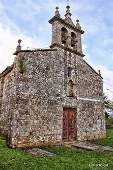 Paderne San Xoan de Vilamourel. Foto de Alberto García.