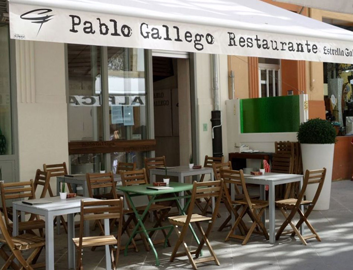 Restaurante A Coruña Pablo Gallego
