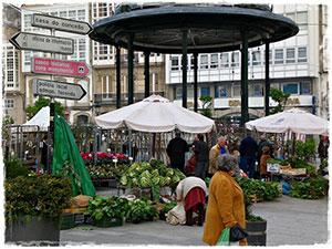 Mercado Feria Betanzos